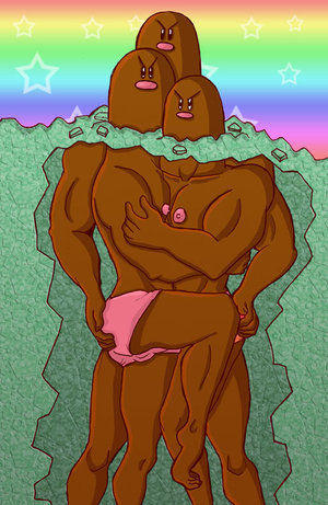 Dugtrio_Underneath_the_Surface_by_SaladBowl.jpg