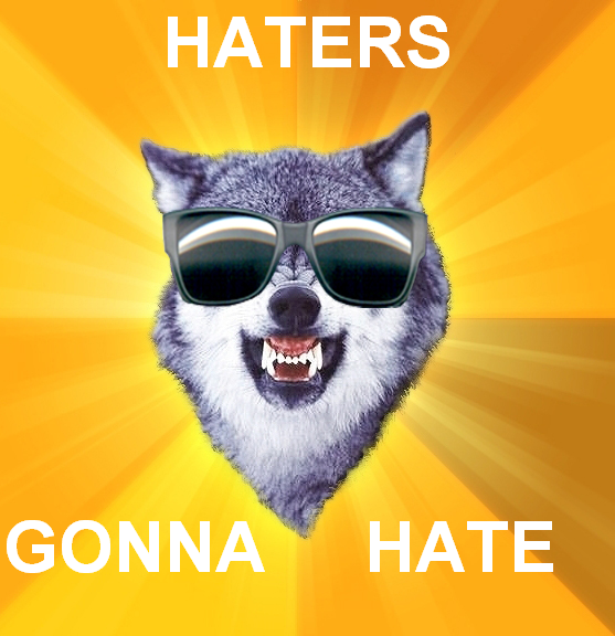 courage_wolf_summertime_haters_gonna_hate.PNG