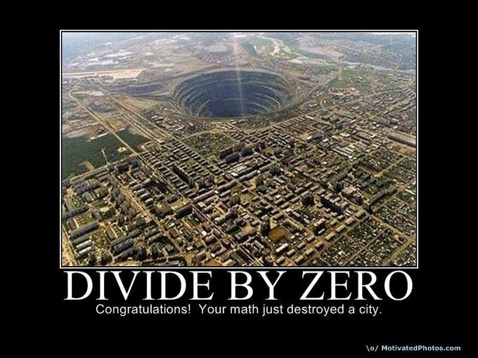 Divide by zero 4