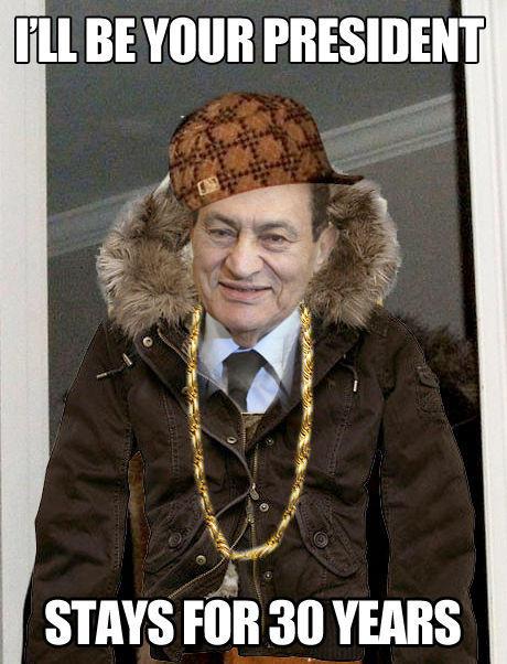 Scumbag Mubarak
