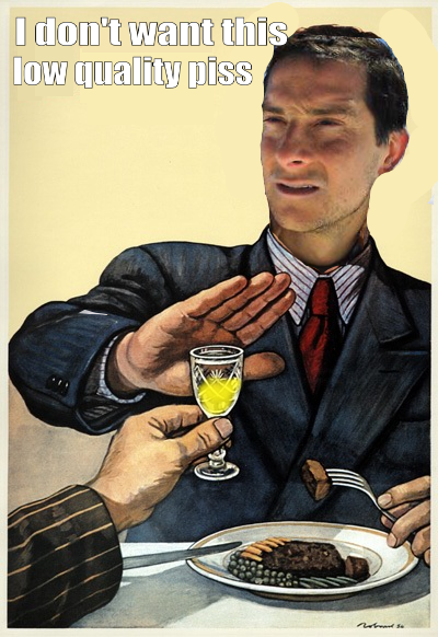 image bear grylls better drink my own piss