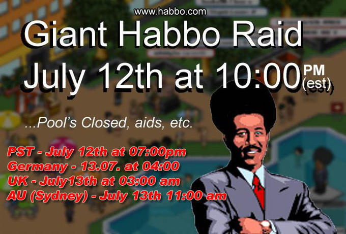 julyposter habbo hotel know your meme,Pools Closed Meme