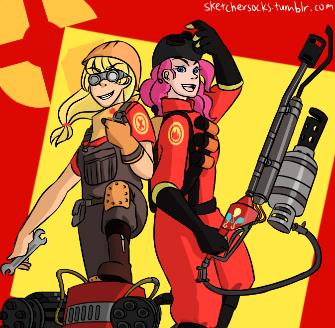 ajengie_and_pinkiepyro_by_sketchersocks-d4azk7l.png