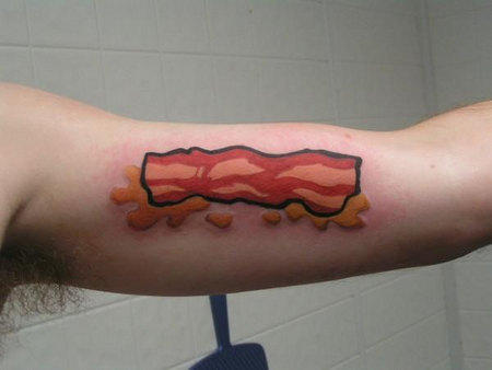 Bacon Tattoo Design One Thing Is For Sure People Love To Eat L A