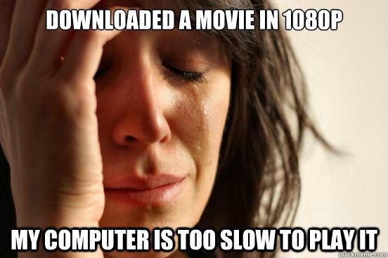 Movie Won't Play