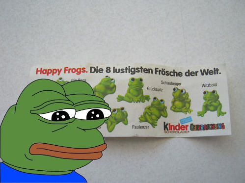 You'll Never Be a Happy Frog