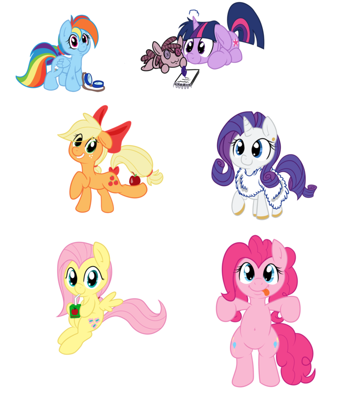 mlp_fim_meet_the_gang_by_smittyg-d4ginqi.png