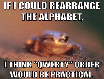 Flirting Fail Frog #1