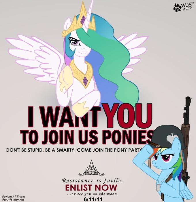i_want_you_to_join_us_ponies_by_wolfjedisamuel-d3iyqfv.jpg