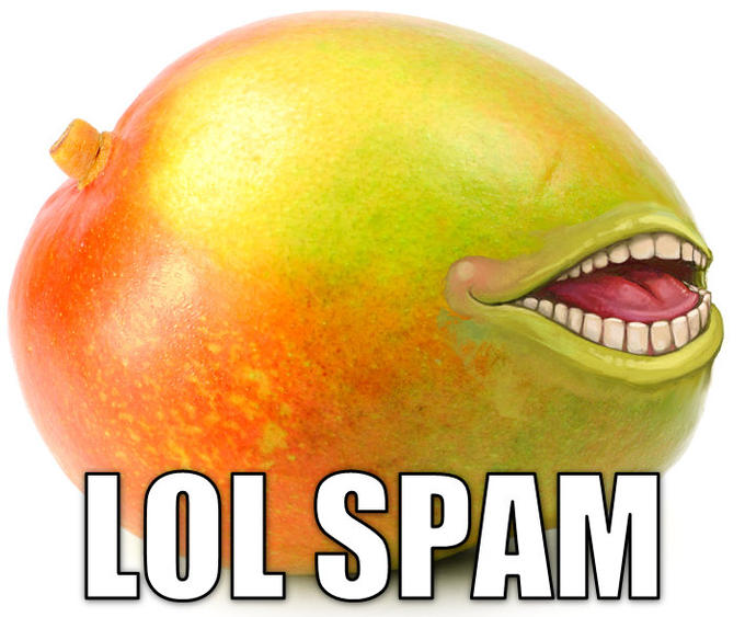 The Spamming Mango of Salamafrica
