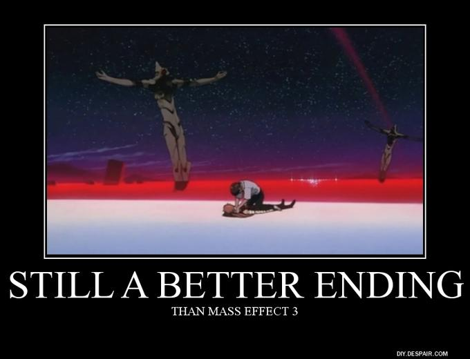End of Evangelion is a Better Ending