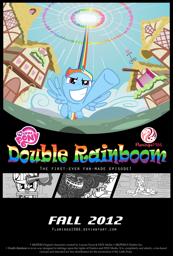 Double Rainboom (Animatic)