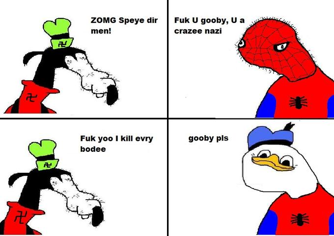Spiderman meets dolan
