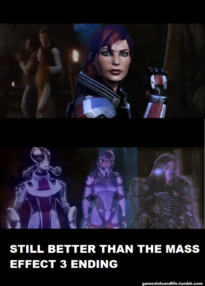 Mass Effect 3: Return of the Shepard