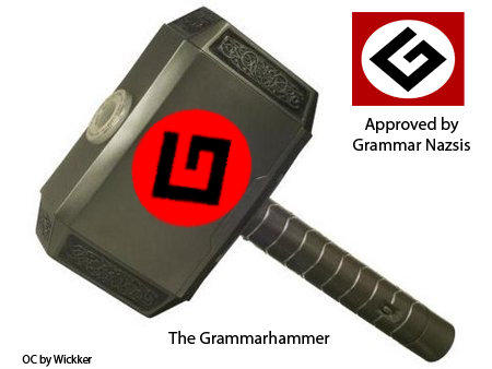 The Grammarhammer