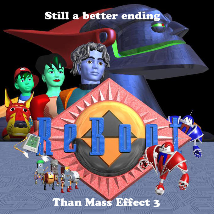Better ending than Mass Effect 3