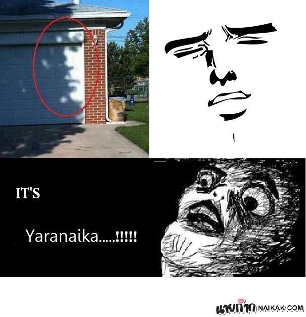 It's.... YARANAIKA!!!