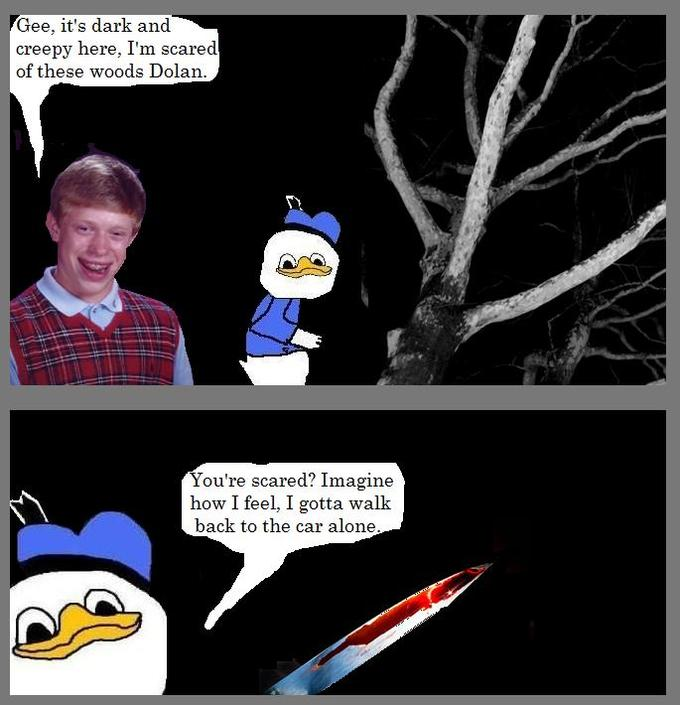 Dolan the Duck with Bad Luck Brian