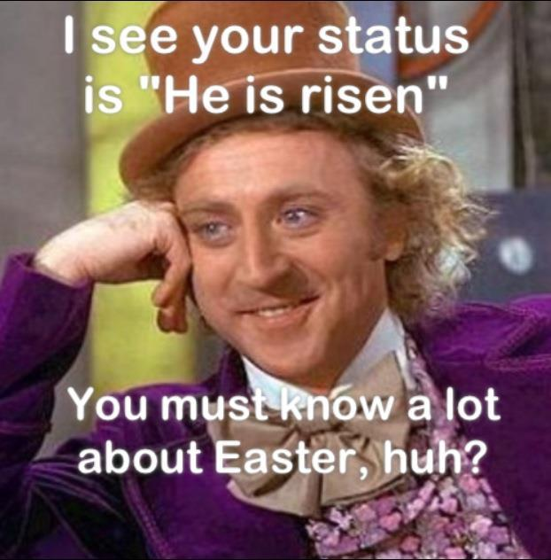 Easter Willy Wonka