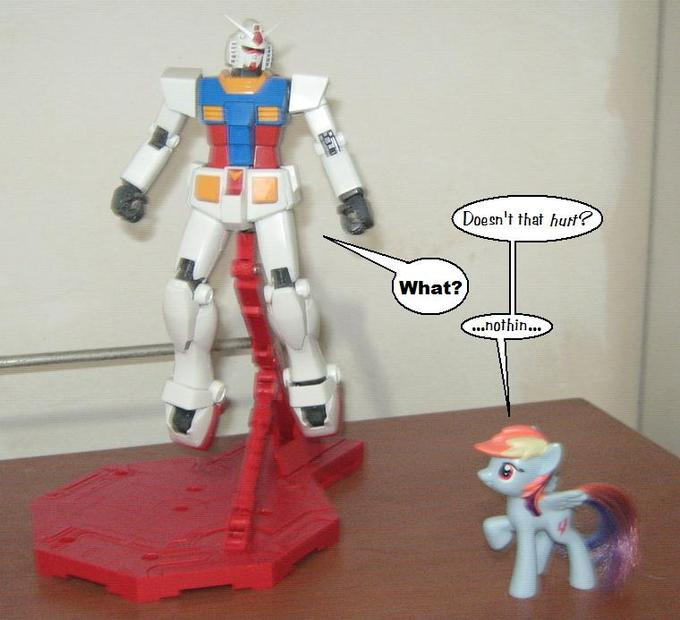 Ponys and Gundams