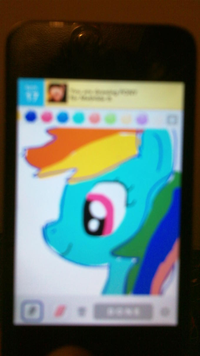 Drawing a Pony