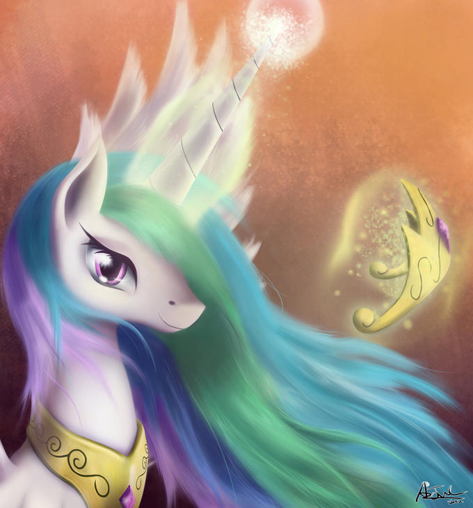 celestia for new mane character