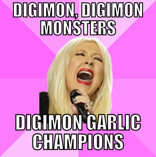 Digimon Garlic Champions!