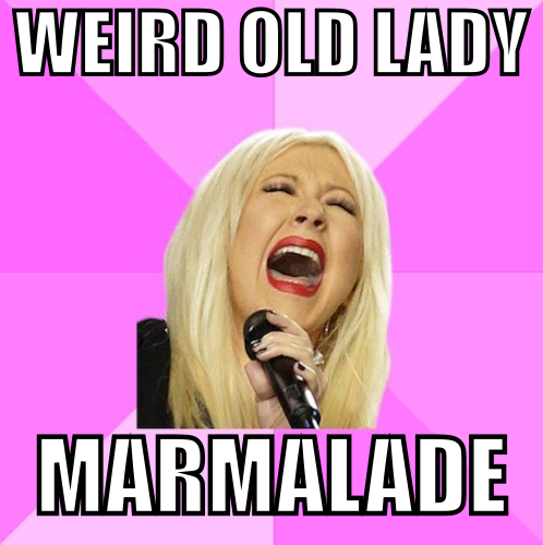 Weird Old Lady Marmalade