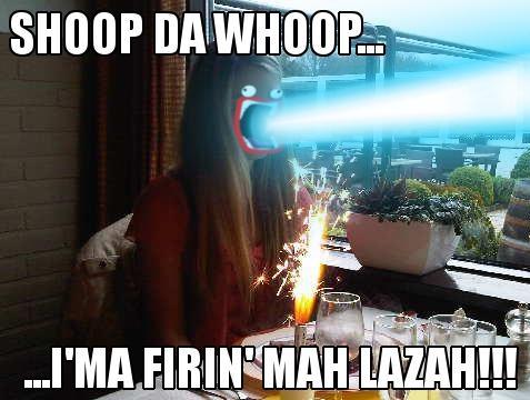 Shoop Da Whoop, Karlijn Verhagen's Firin' Hah Lazah!!!!!!!!!!!