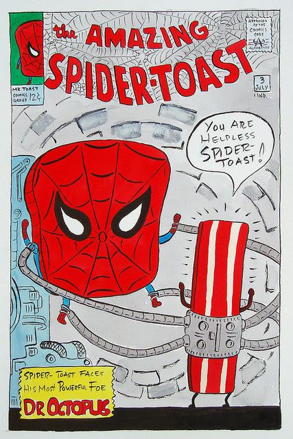 The Amazing Spidertoast part 2