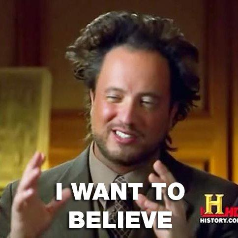 I Want to Believe/Aliens