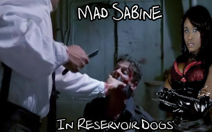 Mad Sabine Mondestin in Reservoir Dogs