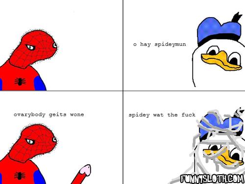 Spidey WTF