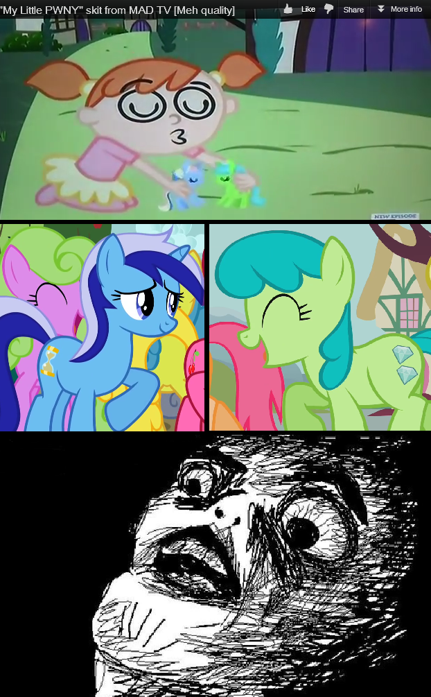 MAD knows about background ponies and shipping