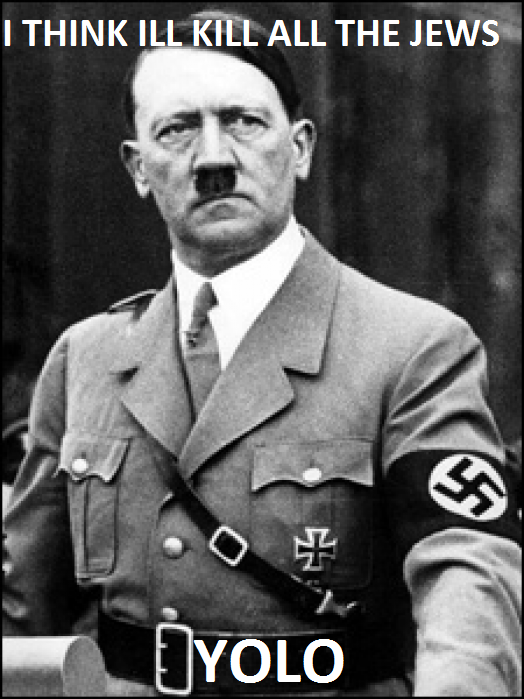 Hitler YOLO