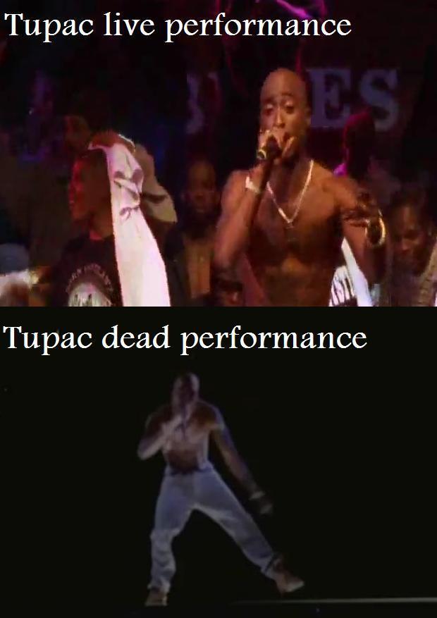 Tupac performance