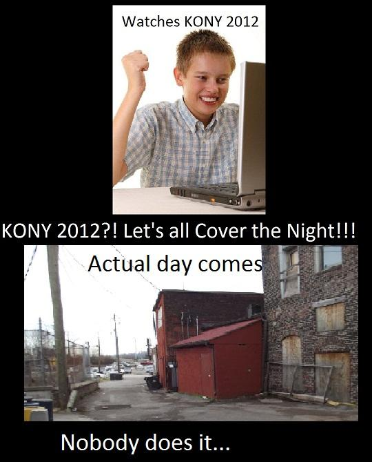 KONY Cover the Night Fails