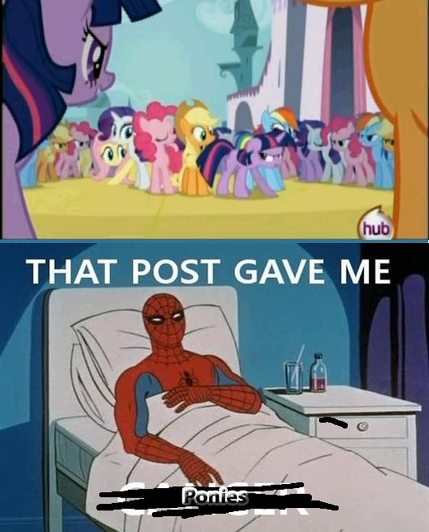 That Post Gave Me Ponies