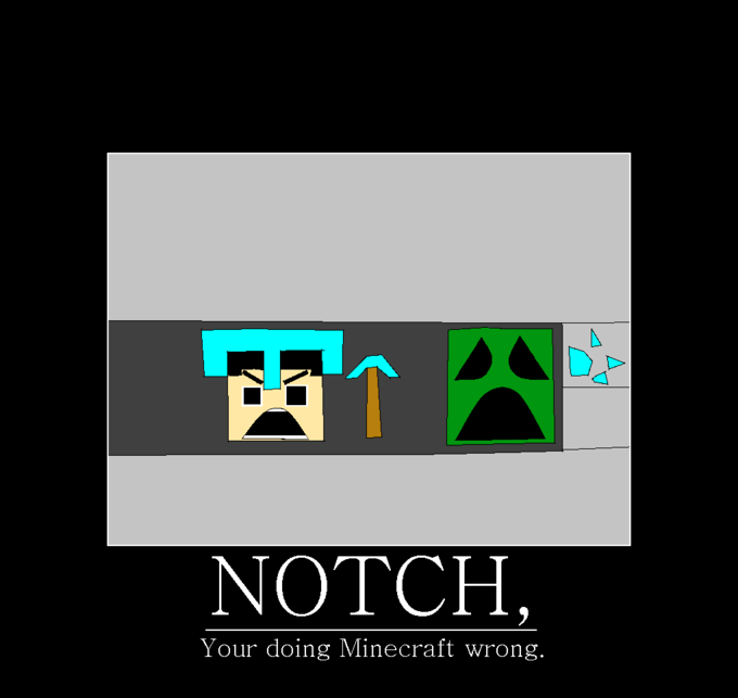 Notch, Your Doing Minecraft Wrong