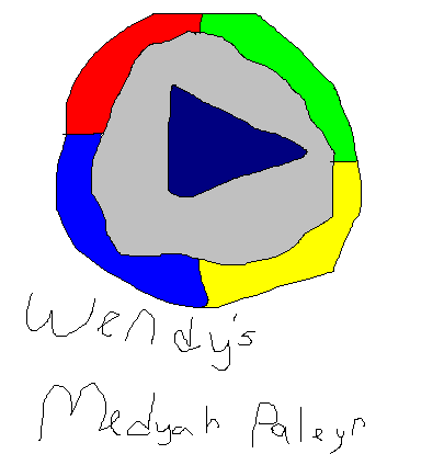 Windows Media Player MS Paint Desktop Icon