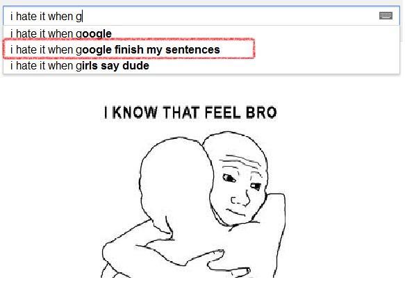 i hate google
