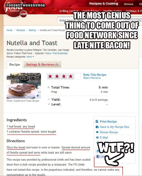 Mmmmmm nutella toast