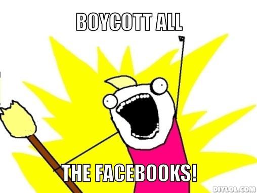 Boycott ALL The Facebooks! - CISPA