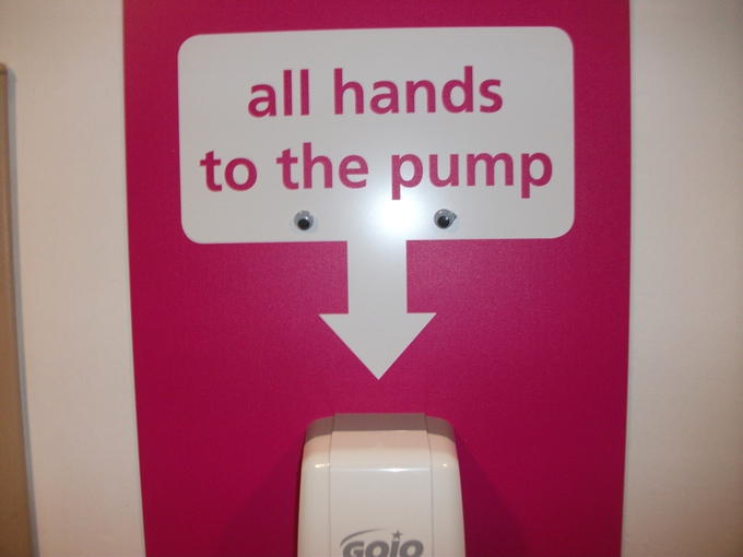 All Hands To The Pump