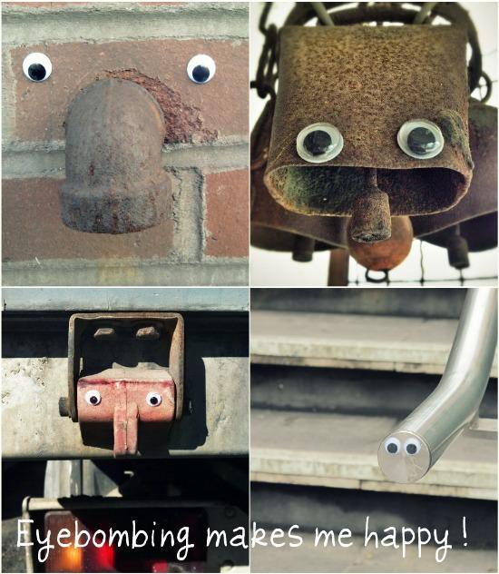 Eyebombing Makes Me Happy!