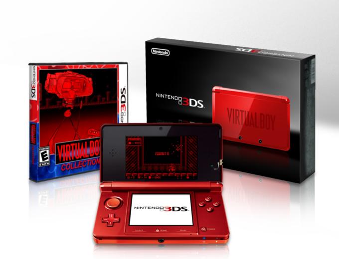 3DS Virtual Boy Collection Bundle Concept