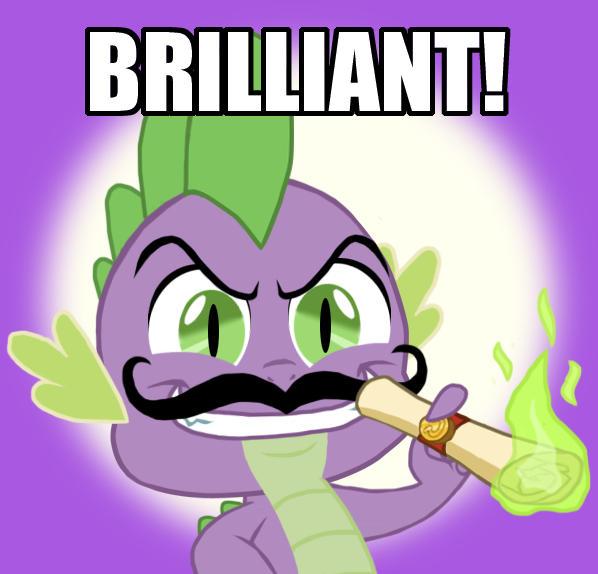 Spike: BRILLIANT!!