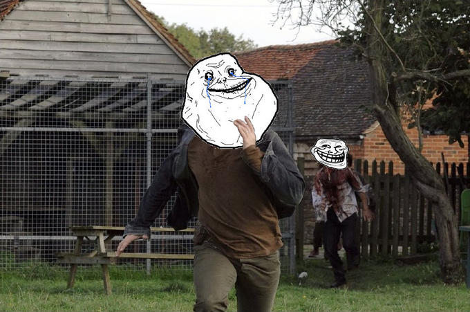 Forever alone 28 weeks later