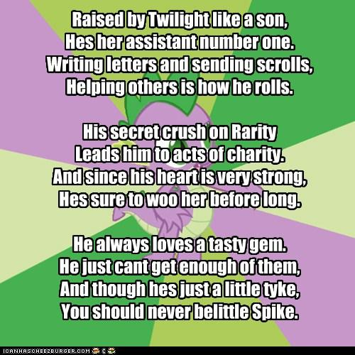 My Little Poetry: Spike