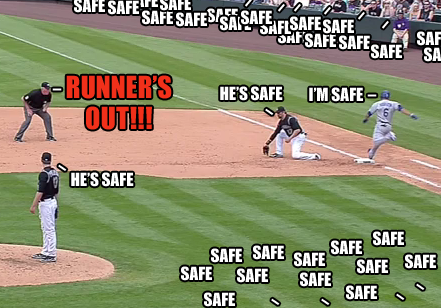 Bad Ump is Bad